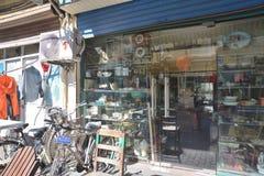Rue de magasin de substance d'antiquité de Changhaï vieille photos libres de droits