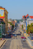 Rue de manière de Poltava Images stock
