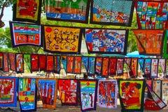 Rue de Maputo Photos libres de droits