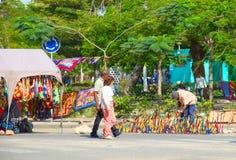 Rue de Maputo Image libre de droits