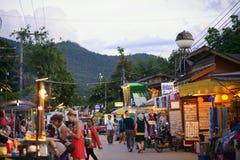 Rue de marche Thaïlande, Photographie stock libre de droits