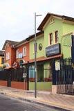 Rue de Mariscal Foch à Quito, Equateur Image libre de droits
