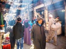 Rue de Marrakech photos stock