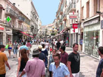 Rue de Massena Photographie stock libre de droits