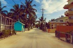 Rue de matoir de Caye Photos stock
