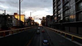 Rue de Mexico à l'aube Photos libres de droits