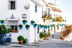 Rue de Mijas photo stock