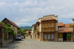Rue de Mtskheta Photo libre de droits