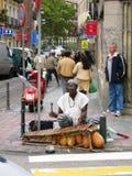 Rue de musicien Image libre de droits