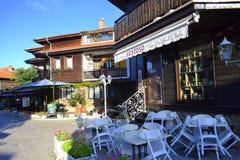 Rue de Nessebar Photo stock