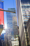 Rue de New York Photo libre de droits