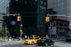 Rue de New York Photos libres de droits