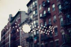 Rue de New York City Images stock