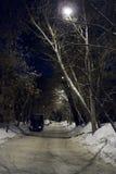 Rue de nuit Image libre de droits
