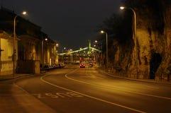 Rue de nuit Photo libre de droits