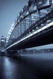 rue de Pétersbourg de passerelle Images libres de droits
