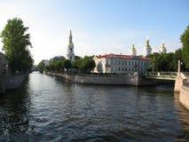 rue de Pétersbourg Russie Photos stock