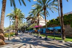 Rue de Palma de Mallorca Images libres de droits