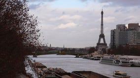 Rue de Paris Automne banque de vidéos