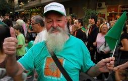rue de patrick de défilé de jour Photos libres de droits