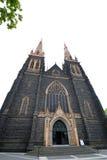 rue de patrick s de cathédrale de l'australie Photo libre de droits