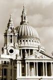 rue de pauls de l'Angleterre Londres d'église Photographie stock libre de droits