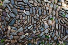 Rue de pavé rond à Philadelphie, PA, Etats-Unis Image stock