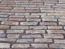 Rue de pavé rond Image libre de droits