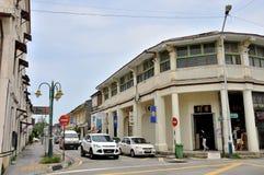 Rue de Penang Images libres de droits