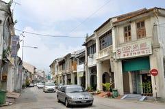 Rue de Penang Image libre de droits