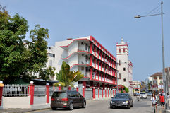 Rue de Penang Photos libres de droits