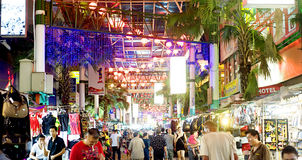 Rue de Petaling Photographie stock libre de droits