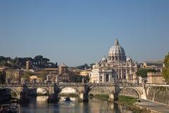 rue de peter Rome s de basilique Photographie stock libre de droits