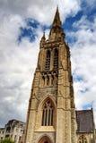 rue de peters d'église Images stock