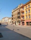 Rue de Piotrkowska image libre de droits