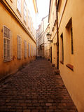 Rue de Prague Photo libre de droits