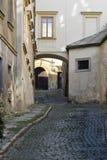 Rue de Prague, République Tchèque Photographie stock libre de droits