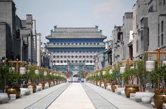 Rue de Qianmen Image libre de droits