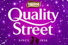 Rue de qualité de Nestle Photos stock