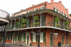 Rue de quartier français de la Nouvelle-Orléans photo stock