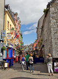 Rue de Quay, Galway Photos stock