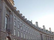 Rue de régents, Londres Images libres de droits