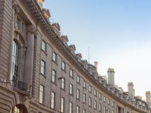 Rue de régents, Londres Image stock