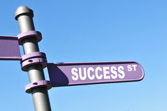 Rue de réussite Image stock