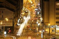 Rue de révolution à Prague Photos libres de droits