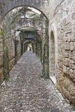 Rue de Rhodos images stock