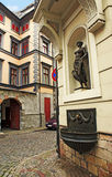 Rue de Riga Images libres de droits