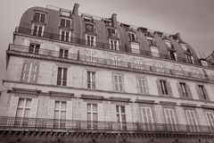 Rue de Rivoli, Paris Stock Photography