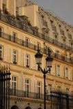 Rue de Rivoli; Paris Stock Images