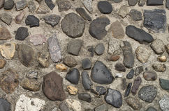 Rue de roche de ballast Photos libres de droits